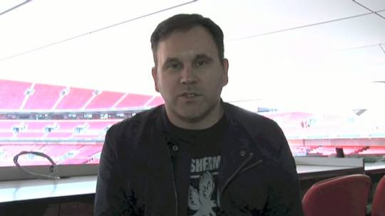 "Matt Redman on ""Wembley National Day of Prayer 2012"""
