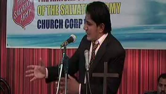 Apostle Asher Preaching in Vehari - Pakistan