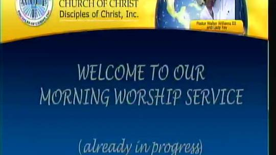 Sunday am Worship November 8, 2015 (full version)