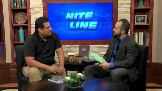 Dr. David Yanez on Nite Line (October 20, 2015)