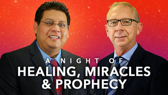 A Night of Healing, Miracles and Prophecy - August 2016