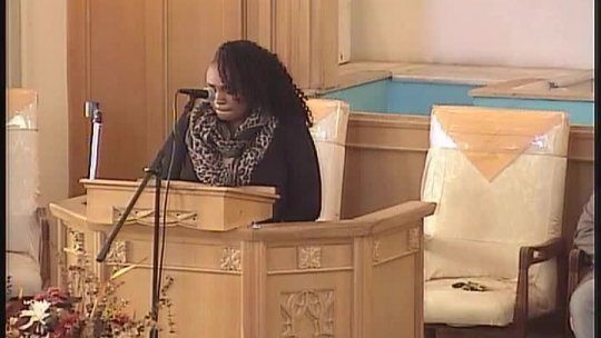 BTC Young People's service - Guest Minister Antonia Mercer -