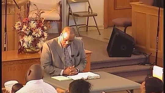 Bible Class - Bishop Jerry Baldwin, Pastor - Sound Doctrine (Installment)