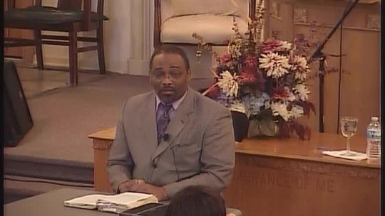 Bible Class taught by Bishop Jerry Baldwin, Pastor - Subject: