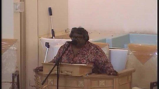 Sunday Morning service - Elder NaJuan Brown -