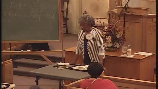 Bible Class - Evangelist (Mother) Clarice Baldwin - God's Covenant(s)