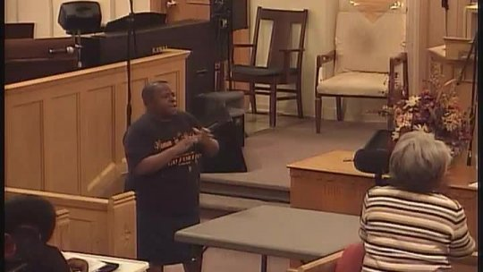Bible Class - Bishop Jerry Baldwin, pastor - The Great Falling Away