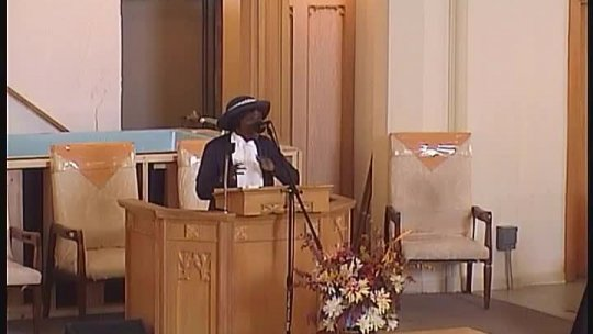 Sunday Morning Service - Elder Galen Carlos Nelson -