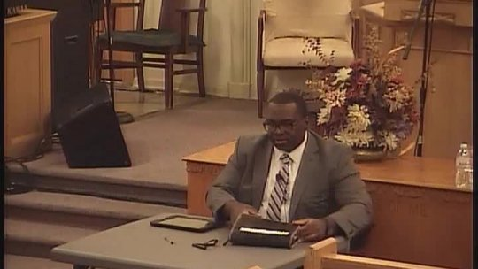 Bible Class - Elder NaJuan Brown - Oct 25, 2017 09:30 PM
