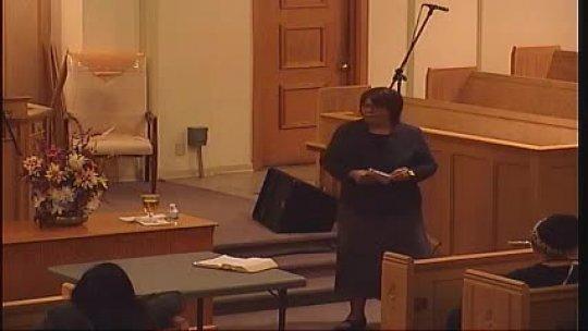 Bible Class - Evangelist Mary Harris -