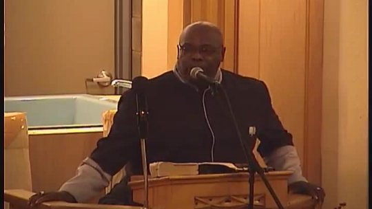 Wisconsin State District Council 2018 - General Session - Guest speaker Elder Melvyn Little -