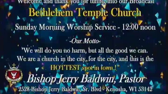 Sunday Morning Service with Elder Gregory M Powell - Associate Minister; Subject: