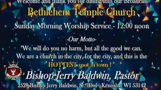Sunday Morning Worship Service - Elder Gregory M Powell, Associate Minister - Subject: