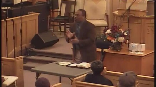 Bible Class - Bishop Jerry Baldwin, Jr., Pastor - Subject: