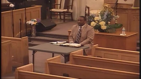 (eBIBLE) - Bible Class taught by Bishop Jerry Baldwin, Jr., Pastor; Subject: