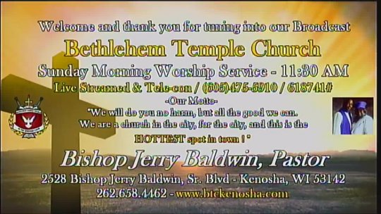 (eCHURCH) - RESURRECTION Sunday Morning Worship Service with Bishop Jerry Baldwin, Jr., Pastor; Subject: